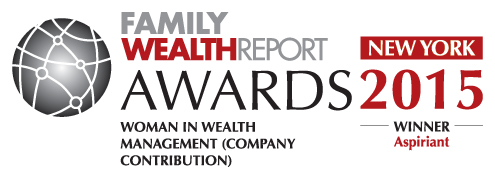 Aspiriant Wins Women in Wealth Management Award from Family Wealth Report Awards 2015 IMAGE
