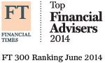 Financial Times Top Financial Advisers 2014 Image