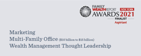 Family Wealth Report Awards - Aspiriant Wealth Management